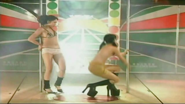 Two hairy Taiwanese – Pole Dance